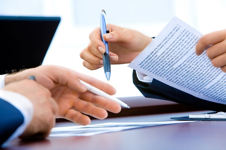 חוקי ירושה: חתימה על מסמכים