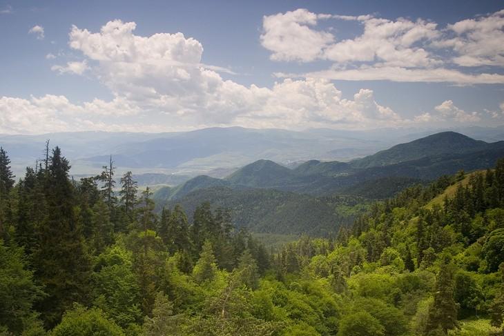פארקים לאומיים בגאורגיה: הפארק הלאומי בורג'ומי-חראגולי (Borjomi-Kharagauli National Park)