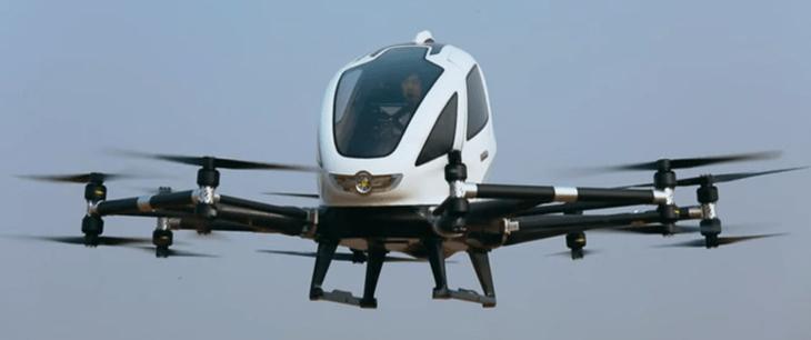 תגליות מדעיות: Aerocar EHang 184
