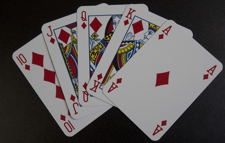 בדיחה על היגיון גברי: קלפים