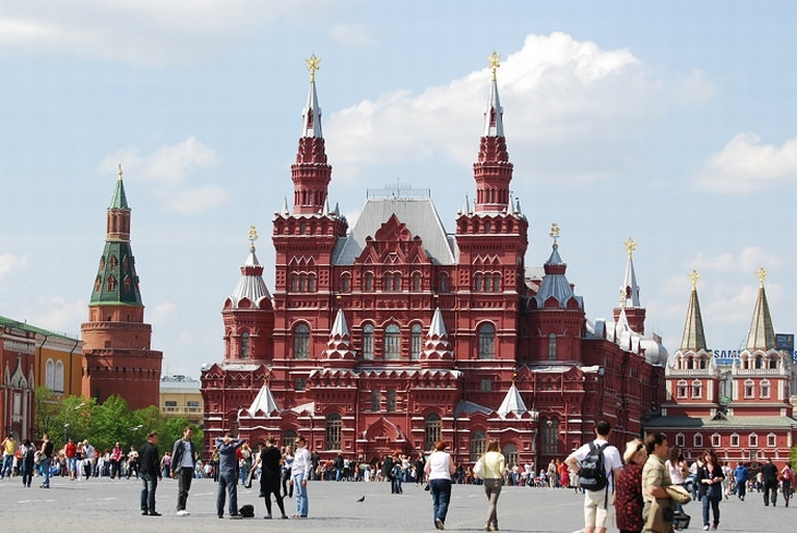 אתרים במוסקבה: הכיכר האדומה