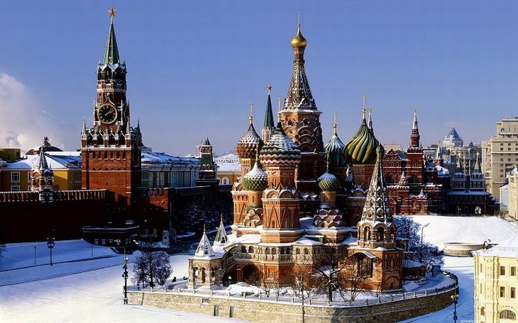 אתרים במוסקבה: הקרמלין