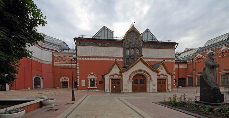 אתרים במוסקבה: מבנה גלריית טרטיאקוב