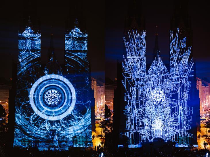 פסטיבל אורות בפראג: