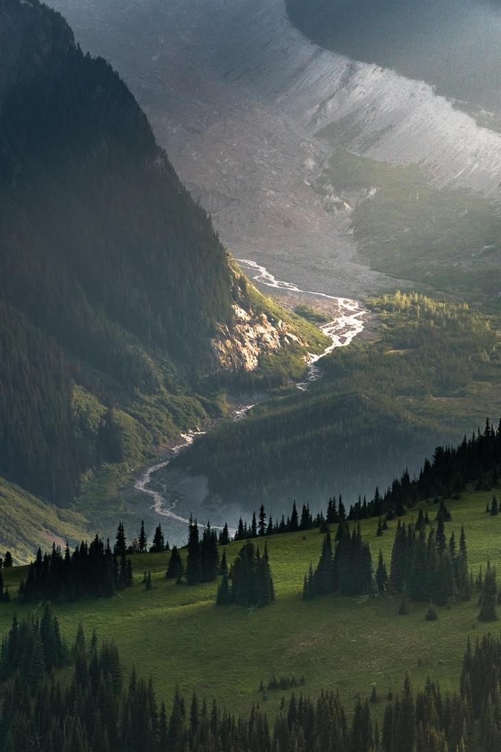 תמונות טבע מדהימות מארצות הברית: הנהר הלבן