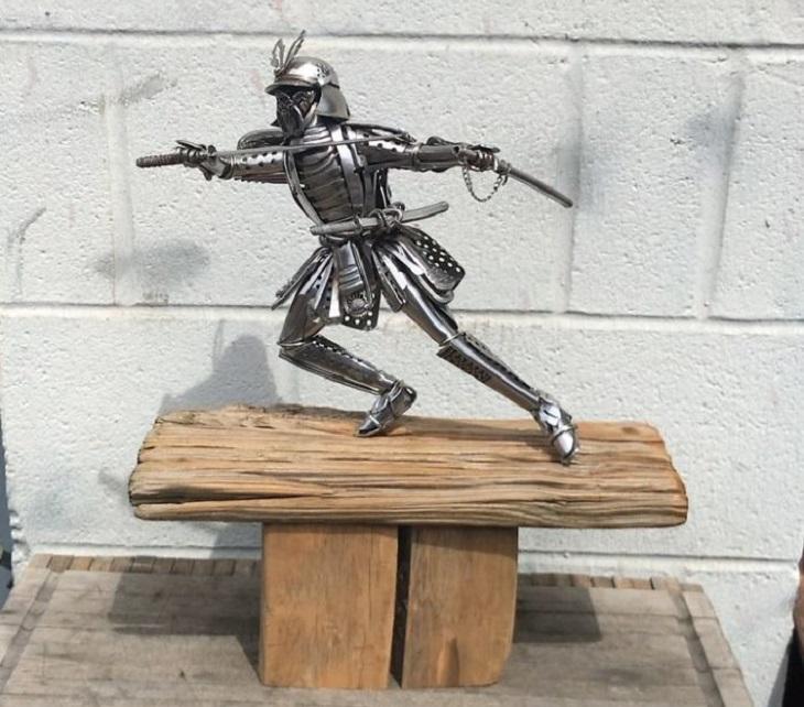 פסלים מסכו``ם: סמוראי