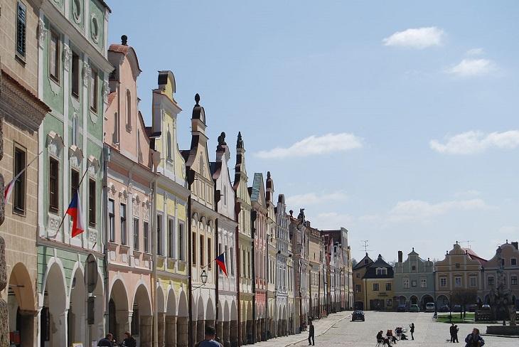 אתרי מורשת בצ'כיה: המרכז ההיסטורי של טלץ'