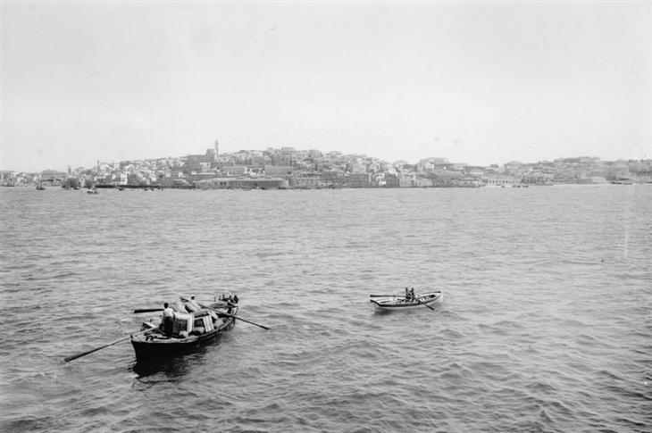 תמונות בארץ בתקופה העות'מאנית: העיר יפו, 1890.