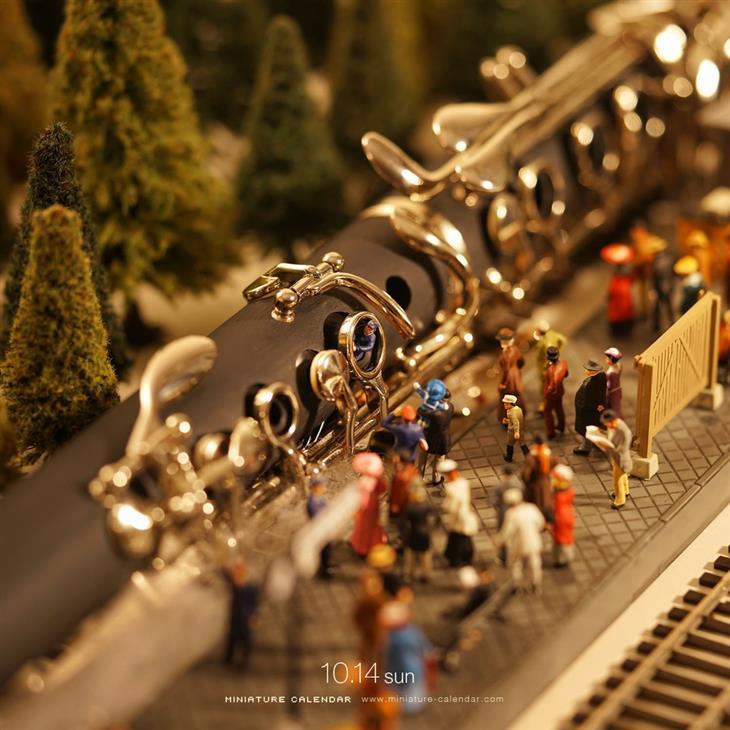 עולמות מיניאטורים: רכבת מקלרינט