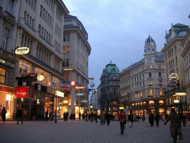 אתרים בווינה: רחוב גרבן