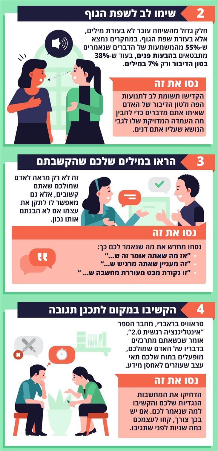 איך לנהל שיחות משמעותיות יותר עם אנשים אחרים