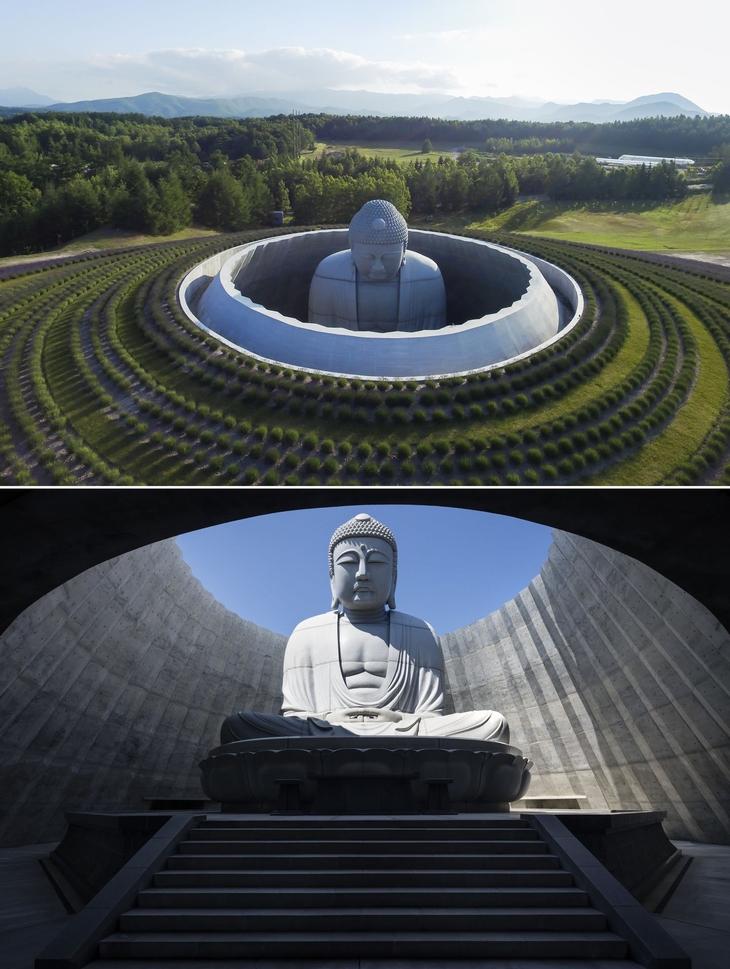 מבנים שהם יצירות אומנות: גבעת בודהה