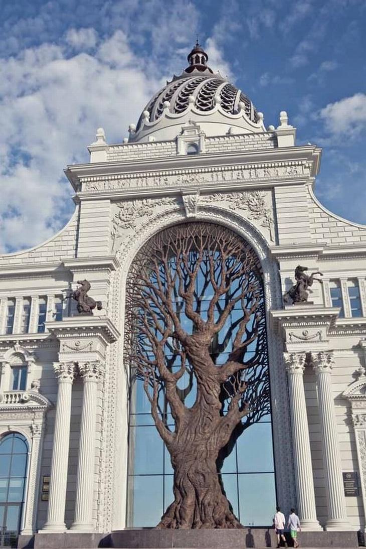 מבנים שהם יצירות אומנות: משרד החקלאות של רוסיה
