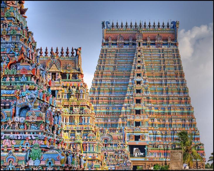 מבנים שהם יצירות אומנות: מקדש ראנגנאתאסוואמי