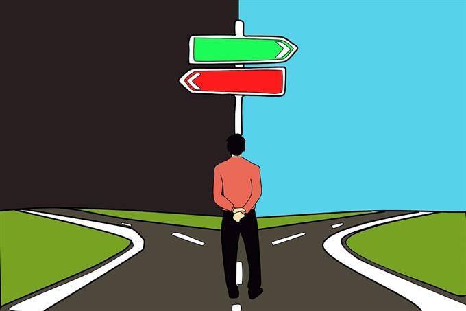 מבחן אישיות - איך המוח עובד: פיצול דרכים