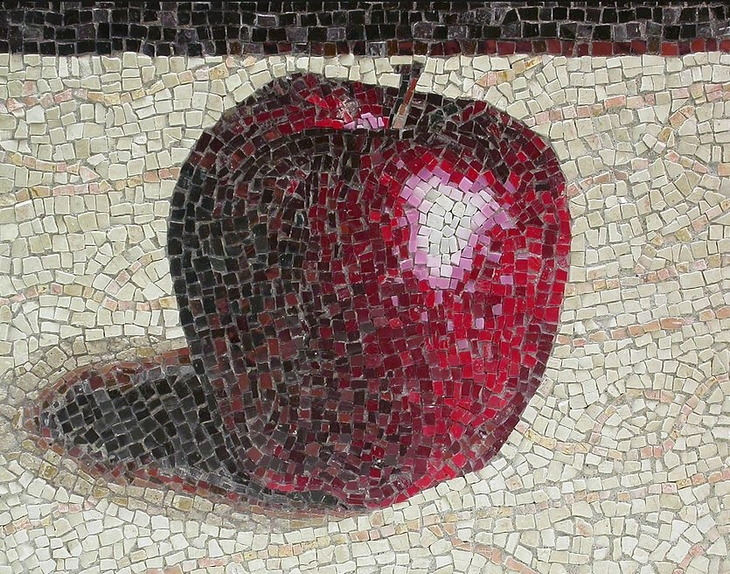 יצירות פסיפס מודרניות: תפוח