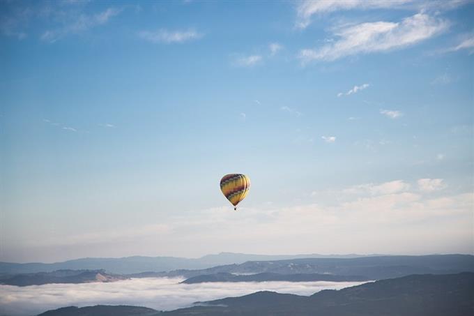 מבחן אישיות מטרה נעלה: בלון פורח בשמיים