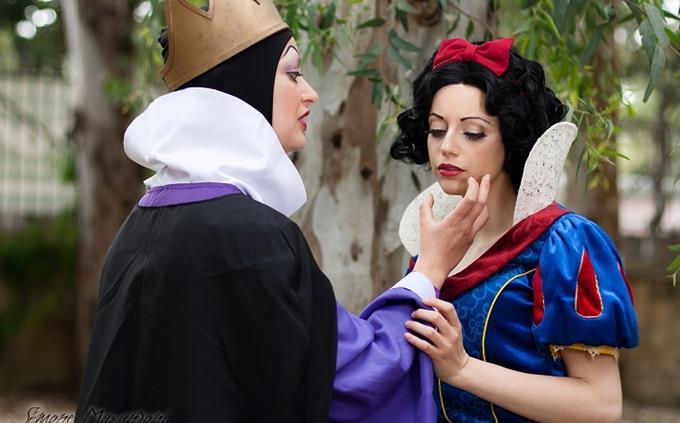 מבחן דיסני: שלגייה והמלכה הרעה