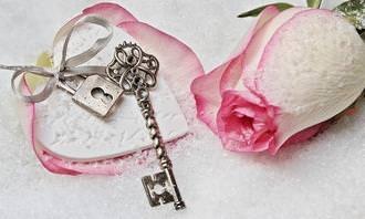מבחן אישיות: ורד ליד מפתח