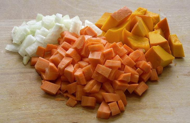טיפים למטבח: ירקות חתוכים