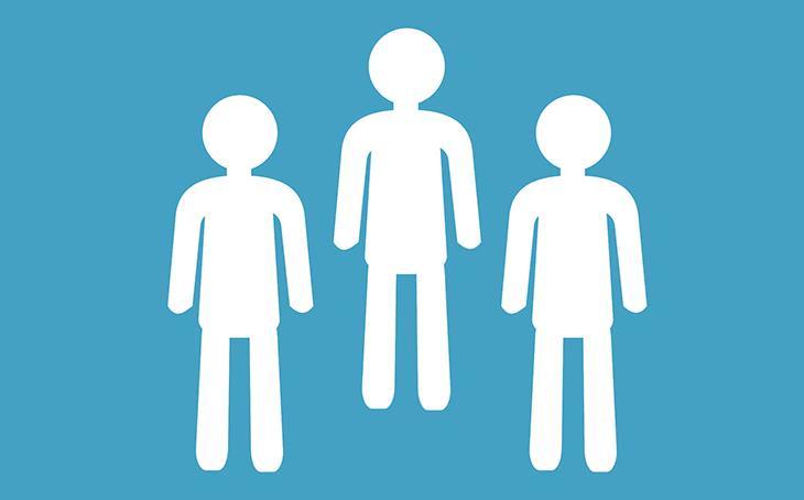 מודל משולש הדרמה של קרפמן: איור של 3 אנשים