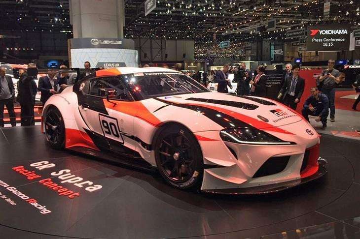 דגמי מכוניות: טויוטה GR Supra Racing Concept