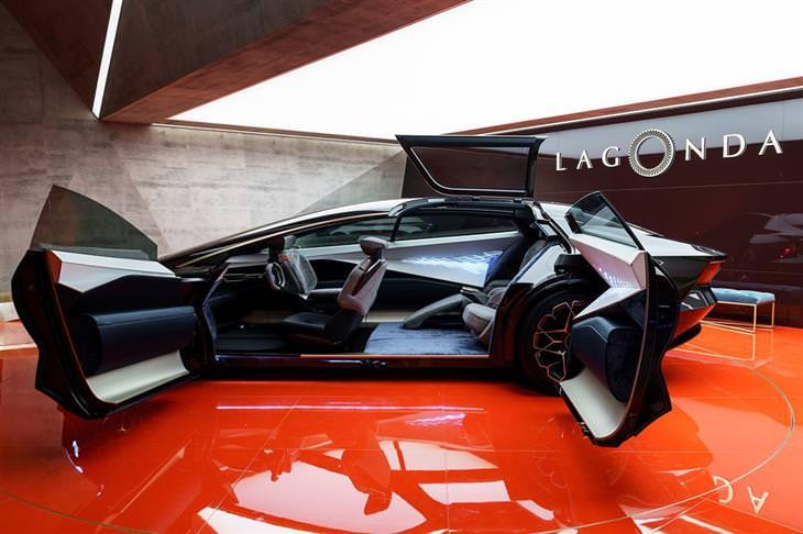 דגמי מכוניות: אסטון מרטין Lagonda Vision Concept