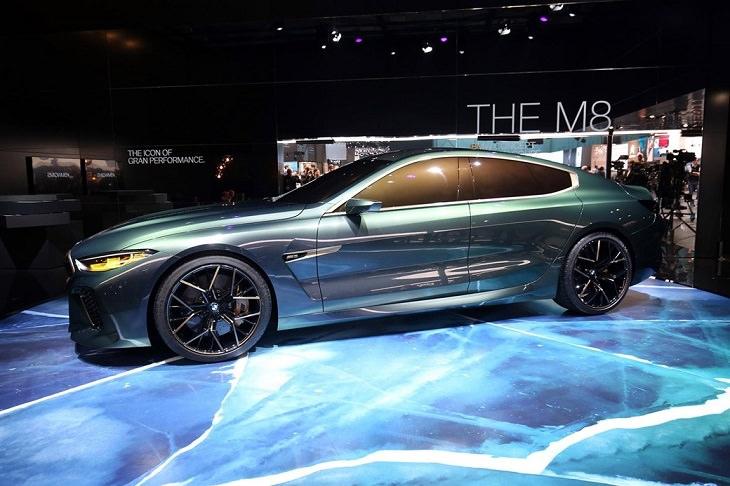 דגמי מכוניות: BMW M8 Gran Coupe concept