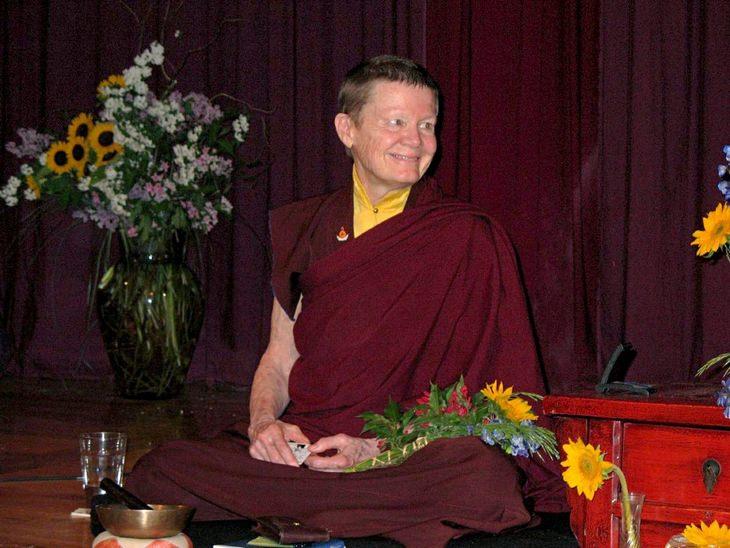 עצות רוחניות של פמה צ'ודרון: פמה צ'ודרון