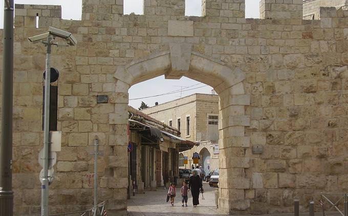 טריוויה ישראלית: השער החדש בחומת העיר העתיקה בירושלים