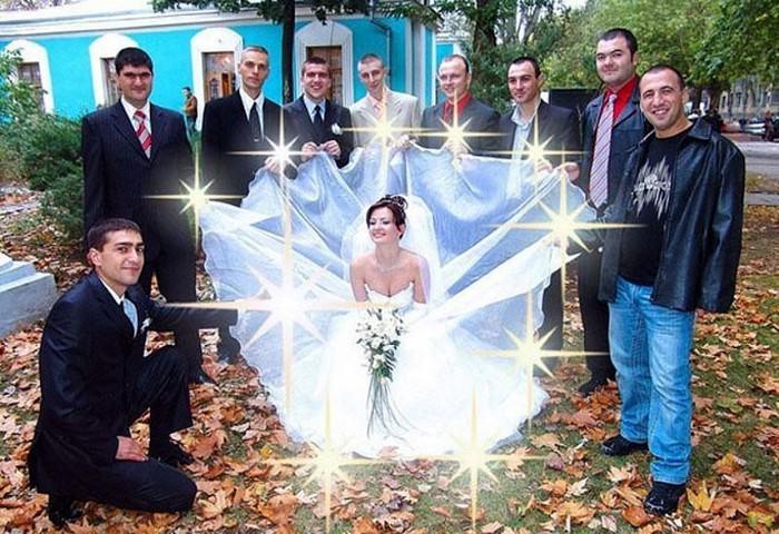 תמונות מצחיקות של חתונות רוסיות: תמונות חתונה מביכה