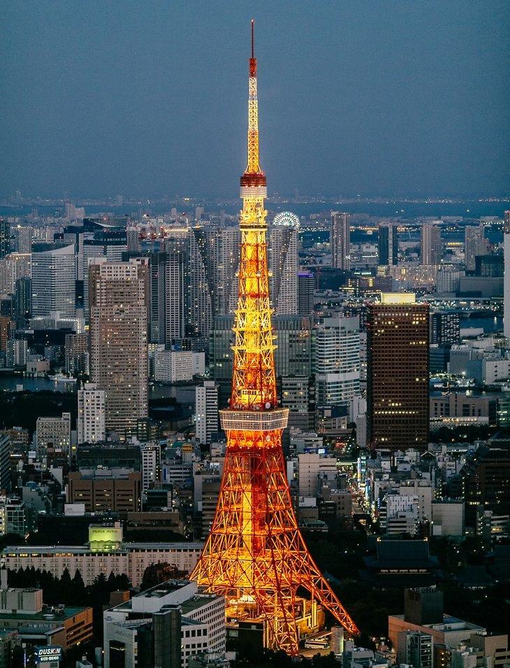 יפן ב-14 ימים: מגדל טוקיו מגבעות רופונגי