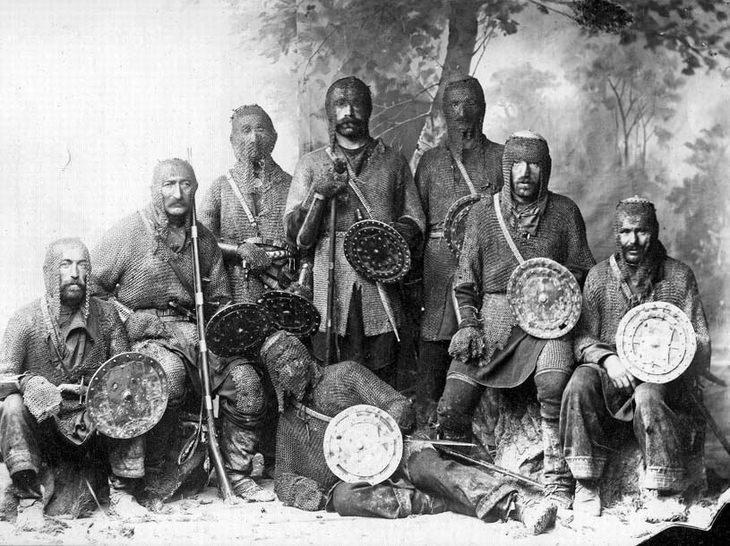 רגעים מההיסטוריה: לוחמים חבסורים מגאורגיה (1914)