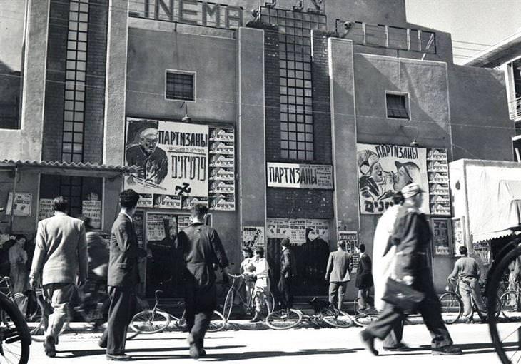 תל אביב של פעם: קולנוע צליל בשדרות ירושלים