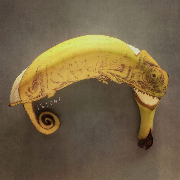 אומנות מבננות: זיקית מבננה