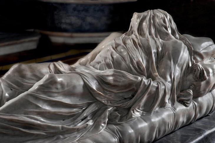 פסלי השיש של קפלת סן סברו בנאפולי, איטליה