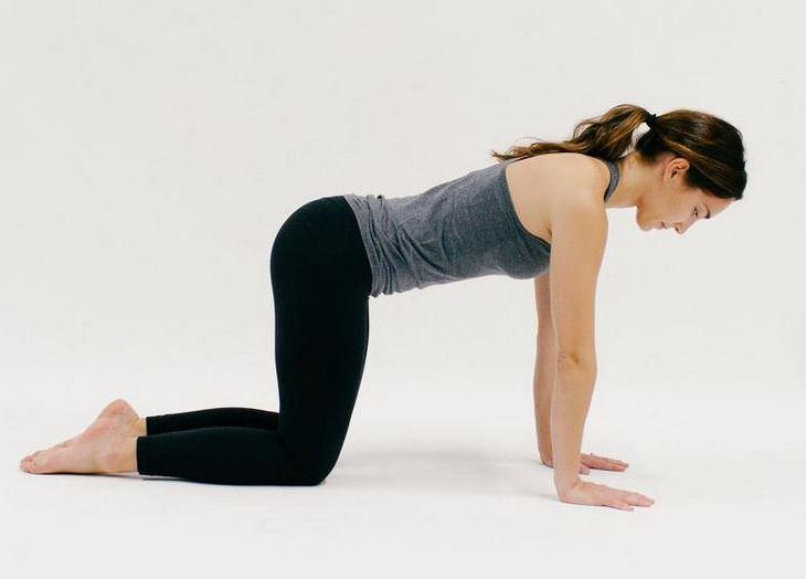 תרגילי יוגה: תנוחת לוח