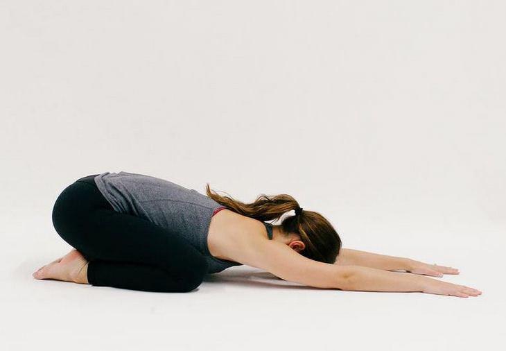 תרגילי יוגה: תנוחת הילד