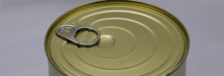 מאכלים שמומלץ להימנע מהם בעת אי ספיקת כליות: פחית שימורים