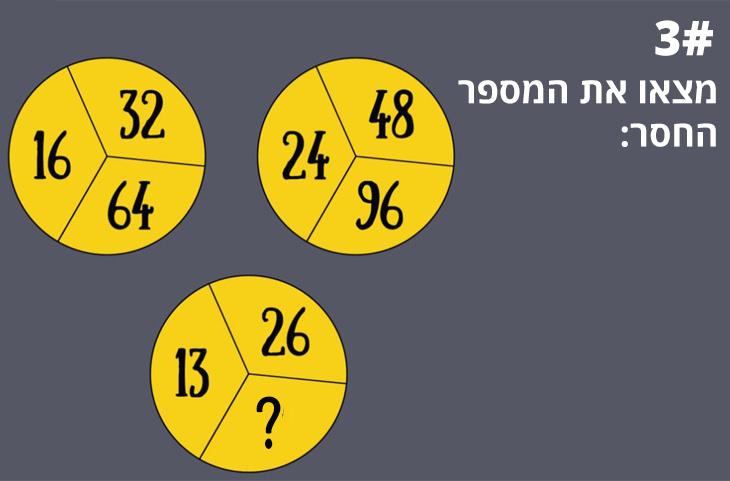 חידות מספרים