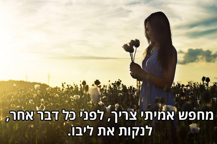 ציטוטי בהאא אוללה: מחפש אמיתי צריך, לפני כל דבר אחר, לנקות את ליבו.