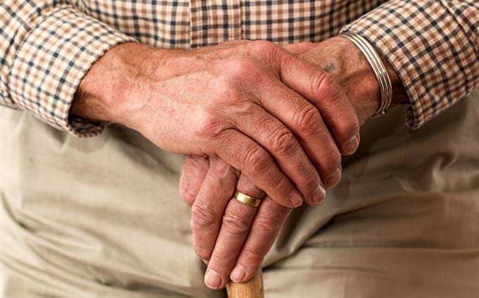 מבחן ידע כללי: ידיים של אדם מבוגר