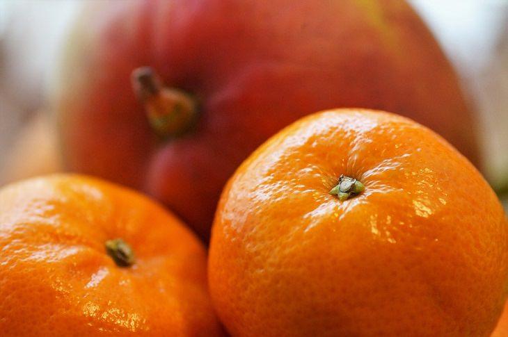 שיפור הפוריות הגברית: תפוזים