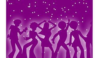 תאריך לידה ואישיות: ציור של אנשים רוקדים דיסקו