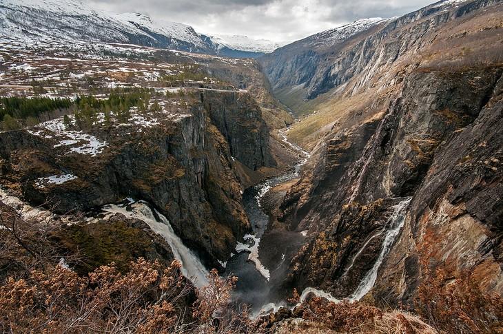 מקומות בנורווגיה: מפלי וורינגפוסן