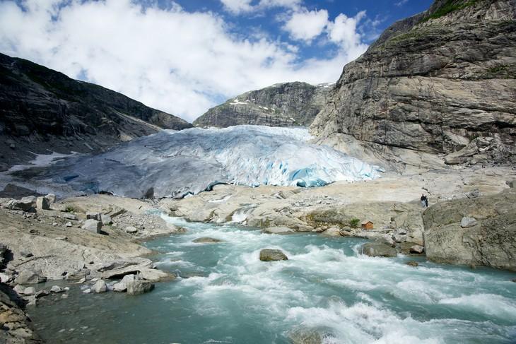 מקומות בנורווגיה: הקרחון יוסטדאלסבריין