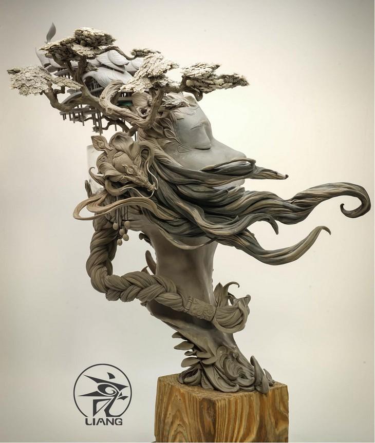 יואן שינג ליאנג: פסלי חרס מרהיבים