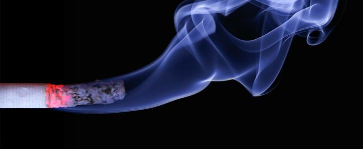 חומרים מסוכנים לכבד: סיגריה בוערת