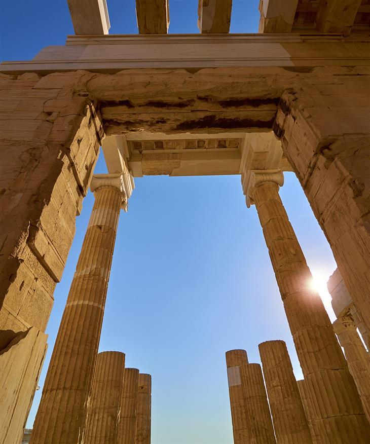 אתרים היסטוריים משוחזרים: הפרתנון כפי שהוא נראה כיום