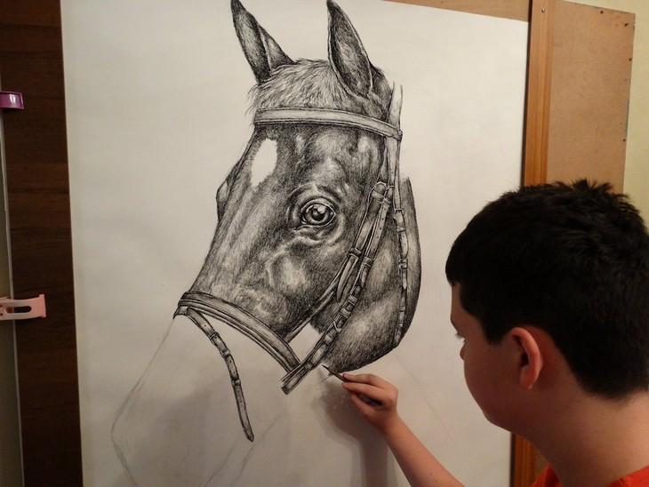 דושאן קרטוליצה: מצייר סוס